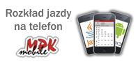Rozkład jazdy na telefon komórkowy